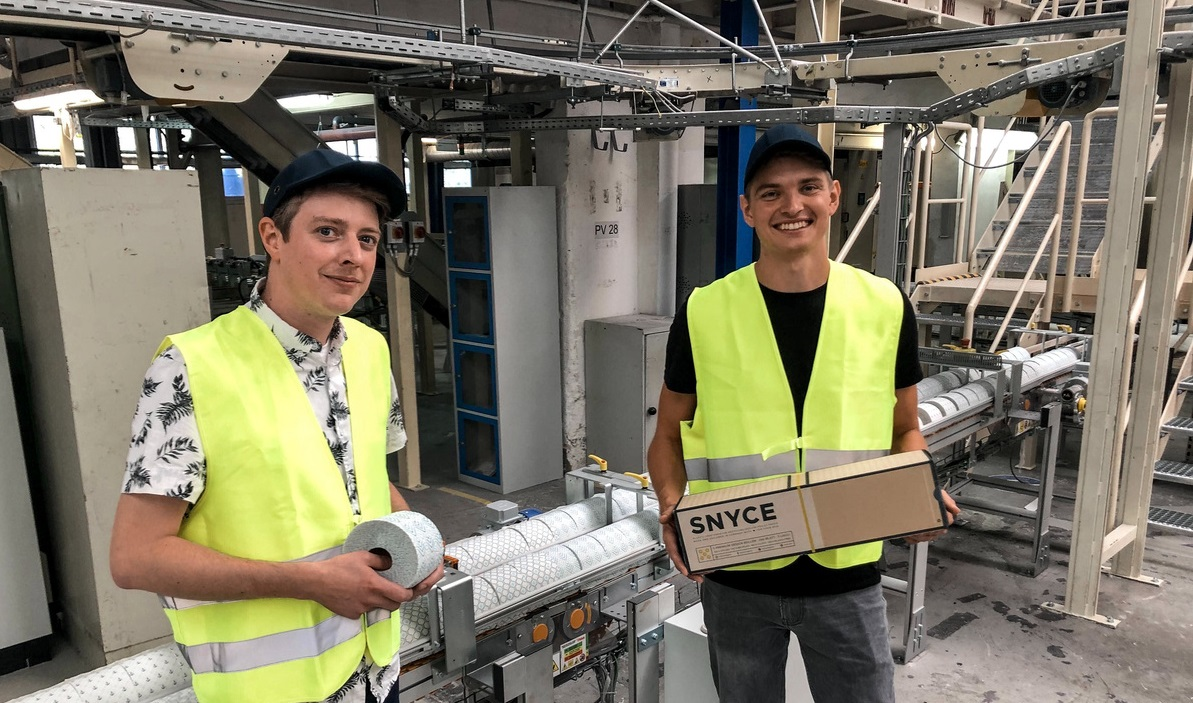 WEPA Ventures mit SNYCE am Produktionsstandort in Mainz